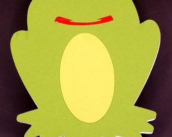 Frog-Shape Birthday Card - Birthday Card