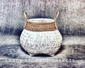 Recycled Guci Bamboo Baskets