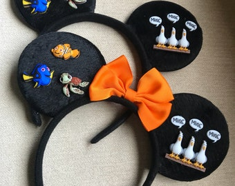 Finding Nemo Inspired  Ears (lightweight)