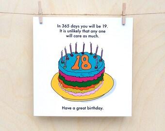 Heres Your Fucking Birthday Card Funny Birthday Card