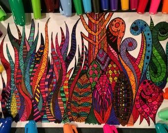 Studio 1500 5x8 Illustration/Doodle Hodge Podge