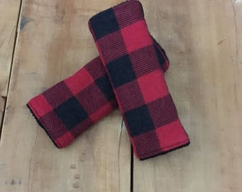 Buffalo Plaid Baby Boy, Woodland Baby Gifts, Buffalo Check Baby Boy, Buffalo Plaid Baby Shower, Car Seat Strap Cover, Lumberjack Baby Boy