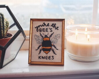 Bees Knees Hand Embroidery