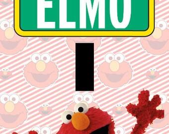 Elmo Sesame Street Single Light Switch Plate Cover