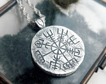 Vegvisir, Amulet, Protection and Guidance, Viking, Icelandic
