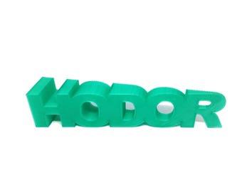 Hodor Door Stop | Game of Thrones | Door Stop | Hold The Door | GoT | Doorstop | Hodor Doorstop | Door Stopper | 3D Printed | Door | Stark