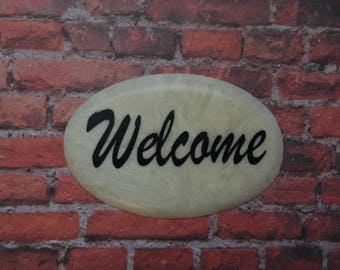 Welcome Tile Plaque   (O1)