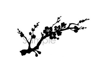 Vinyl Decal- Cherry blossom - Sakura
