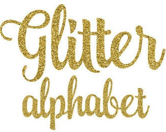 Custom Glitter Iron On Names, Numbers and Logos