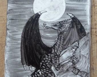 Dragon Moon Plaque