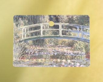 Bridge over a Pond of Water Lilies by Monet Air Freshener