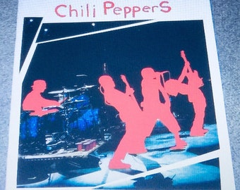 Red Hot Chili Peppers Japanese Tour Program