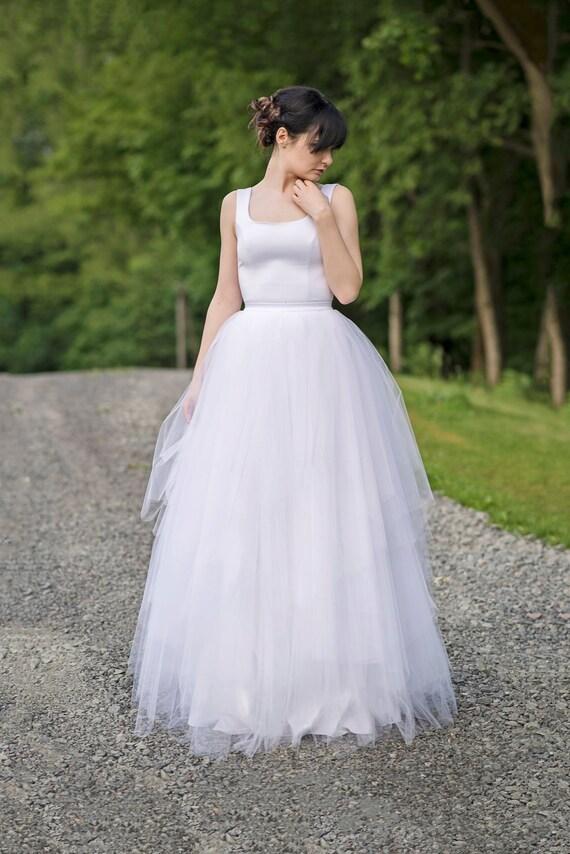 Faerie whimsical wedding dress / ballerina inspired bridal