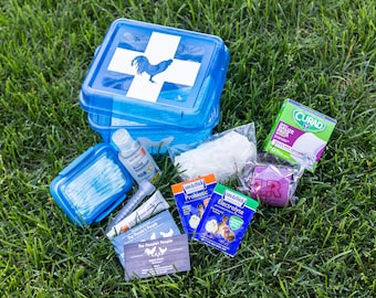 Chicken First Aid Kit, Farming, Chickens, Homestead