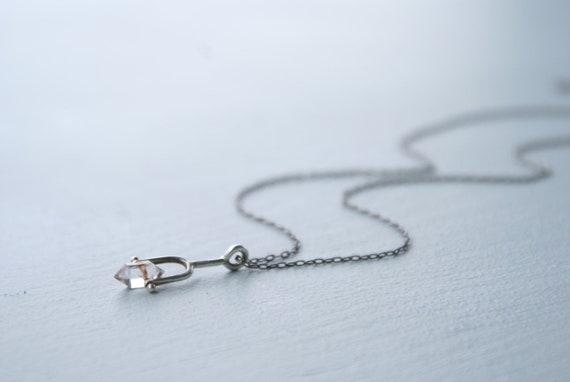 Mini Herkimer Diamond Spinner