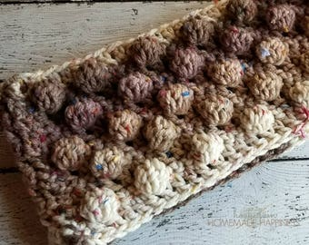 Chunky Cowl Crochet PATTERN - Crochet Cowl Pattern - Caron Cake Pattern - Bulky Scarf Pattern - Chunky Scarf Pattern