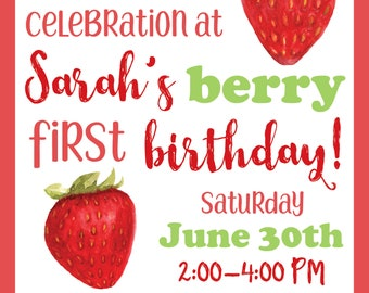 Berry Sweet Birthday