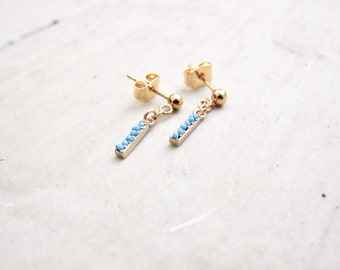 Tiny Turquoise Studs Earrings,Turquoise Studs,Stud Earrings,Turquoise Earrings Gold,Turquoise Stud Earrings,Turquoise,Turquoise Jewelry