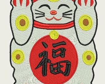 Maneki Neko Lucky Cat 220x220
