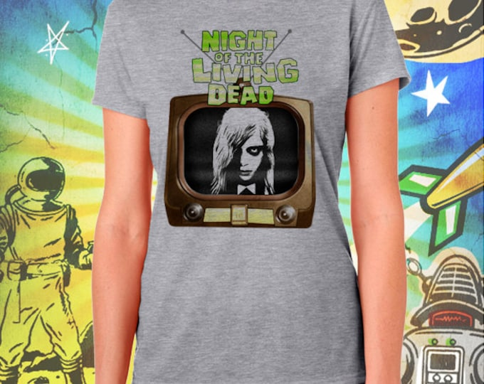 Night of the Living Dead / Women's Zombie Gray Performance T-Shirt