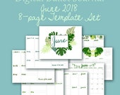 June Planner Template Pag...