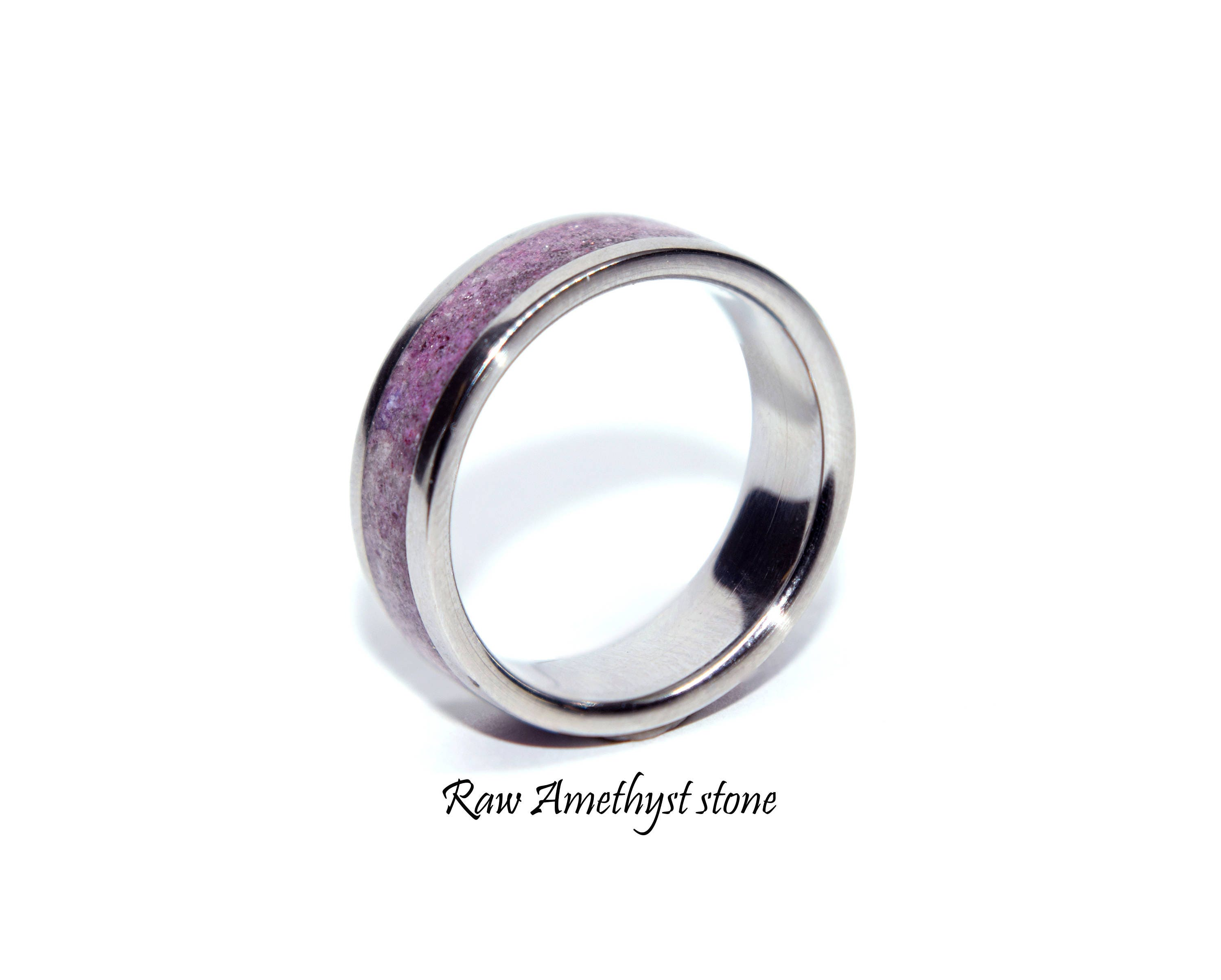 birthstone point amethyst itm february rings jewelry minimalist solitaire delicate ring