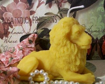 Beeswax Lion Candle