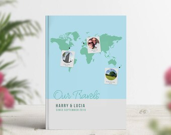 Our love story book, Lifetime of adventures notebook, Our journey book, Travel photo book, Our travels journal, World traveller, Memories