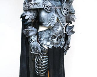 Arthas Lich King Cosplay Armor Costume