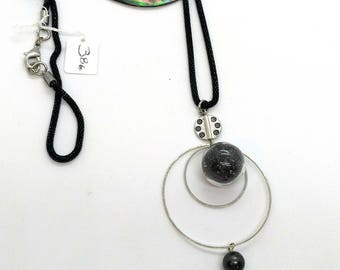 Tahitian Pearl and sand necklace