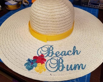 Beach Bum Floppy Sun Hats