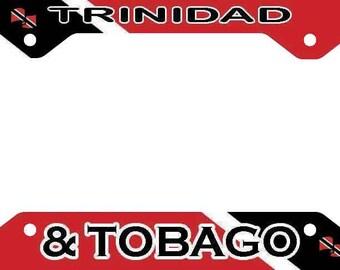 Trinidad & Tobago License Plate Frame Holder