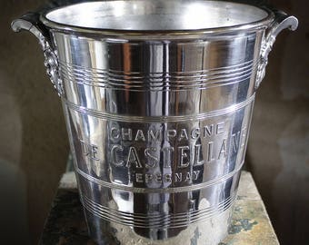 Vintage champagne bucket / cooler Champagne DE CASTELLANE