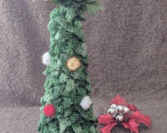 Handmade Crochet Christmas Tree