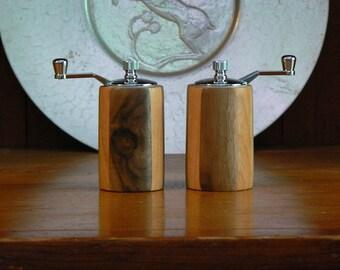 Handmade Wooden Salt and Pepper Grinders - Handmade Wooden Salt and Pepper Mills – Wood, Metal, Ceramic Grinder-SPM401