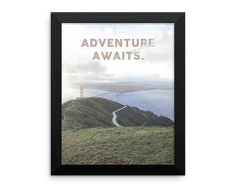 Printable Adventure Awaits Bridge Art