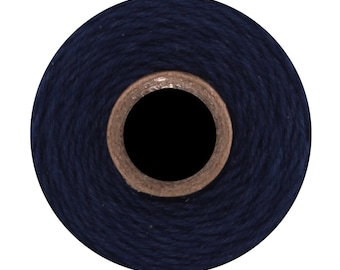 Navy Solid Divine Twine (240 yards) Solid Dark Blue