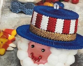 APRILSALE Vintage Annie's Attic Plastic Canvas Year Round Ornaments design booklet