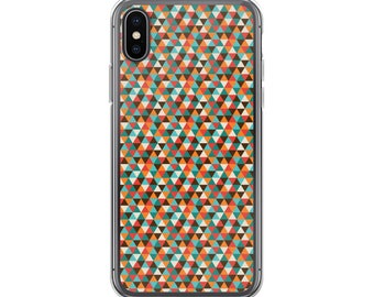 Trendy Stylish Fashion Geometric Hipster ColorfuliPhone Case