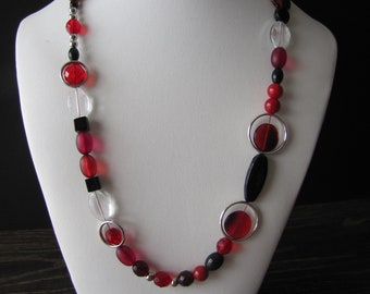 Necklace Red / Red Necklace