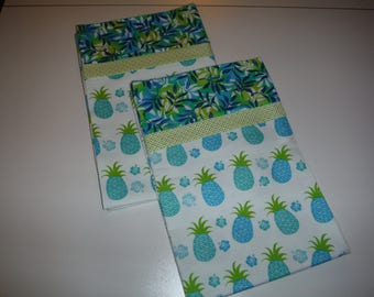 Hawaiian Flannel Pillowcases Standard