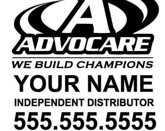Advocare Etsy - Advocare car decal stickers
