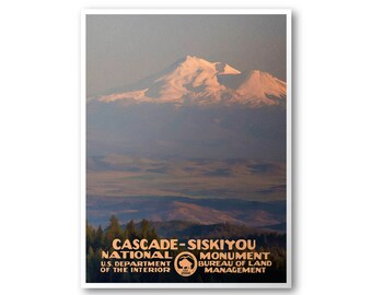 Cascade-Siskiyou National Monument Poster