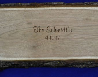 Wedding Guest Book ~ Wedding Sign ~ Wood Slab Guest Book ~ Tree Slice ~ Guest Book Alternative ~ Wood Signing Board ~ Guest Book ~ Weddings