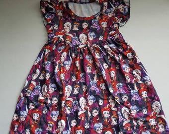 Girls' Disney Villain Pearl Dress