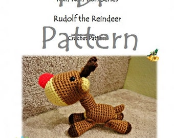 RunRunRun Series - Rudolf the Reindeer (PDF Pattern)