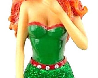 December Diamonds Ginger Snap Mermaid Ornament DD55-55011
