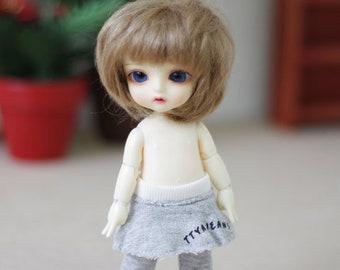 Lati  Pukifee Leggin Skirt -  Light Gray