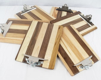 Wooden Full Size Clipboard - repurposed and salvaged wood