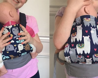 Baby Doll Carrier // Pretend Play // Tula Style